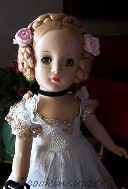 Madame Alexander Karen Ballerina doll 1940s