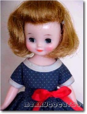 Betsy McCall 8-inch American Character doll tosca hair School Girl 1950s