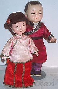  Chinese composition doll