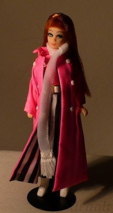 Dawn Glori K11 Topper doll Maxi Mod 1970s