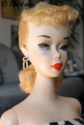 Mattel Barbie doll PT ponytail #3 1960s