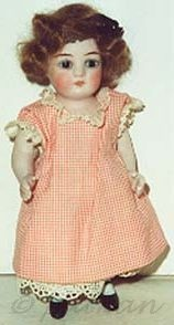 Antique bisque doll Alt Beck Gottschalck