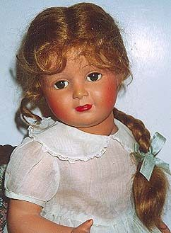 Societe Nobel Francaise SNF celluloid doll