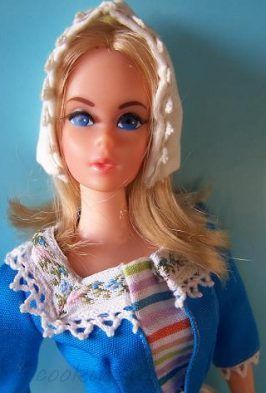 Mattel Barbie doll Live Action 1970s 1960s Barbie in Holland
