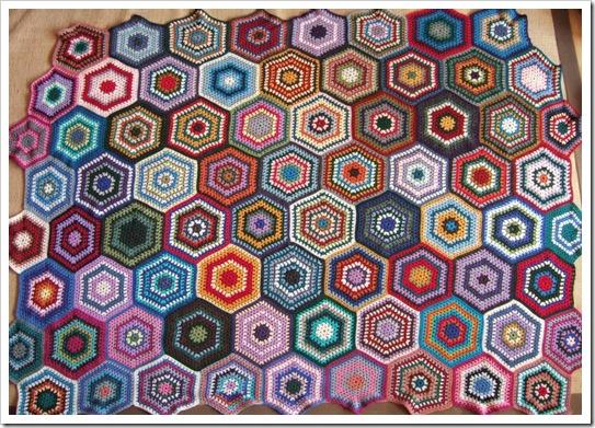 Granny hexagons