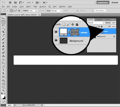 [Tutorial] Elegante menu azul no photoshop Tmenu-p4
