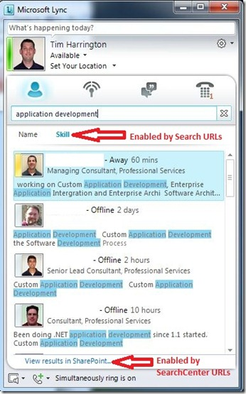 Lync SS - client search - mark2