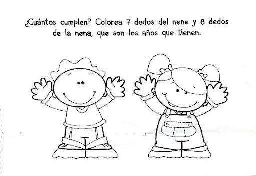 Dibujos para colorear de un nene - Imagui