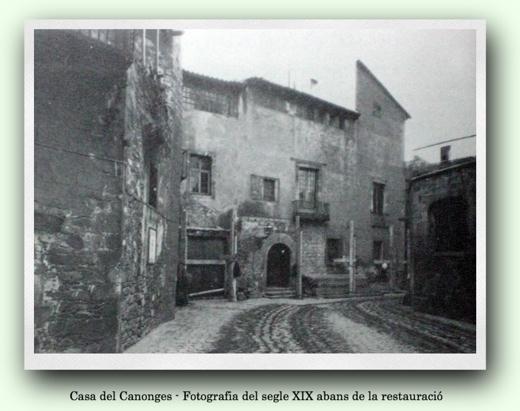 Casa dels Canonges s. XIX