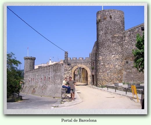 Fotografia del Portal de Barcelona