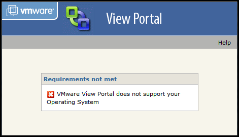 No Windows 7 support for VMware View yet. :(
