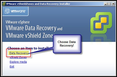 VMware Data Recovery