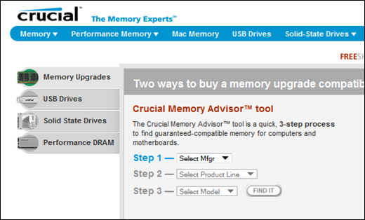 Off-Topic : Breathe some new life into your PC or Laptop with a Memory Upgrade