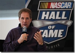 2010 NASCAR Hall of Fame Darrell Waltrip with logo