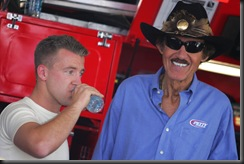 2009 Phoenix Apr Richard Petty and AJ Allmendinger