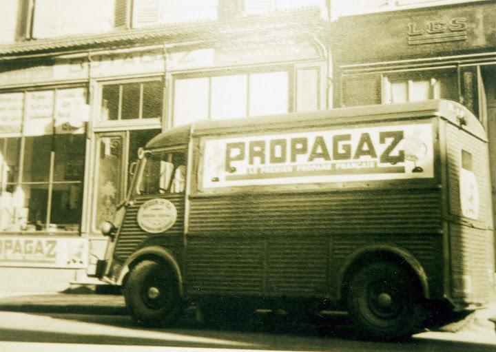 Photos d'époque de camions Citroën - Page 15 Propagaz