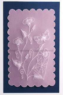 Parchment craft card