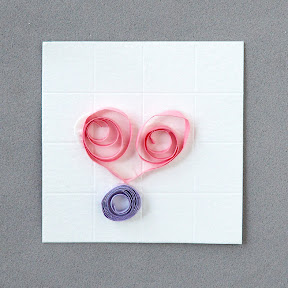 Kid's quilling: heart