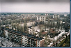 Abandoned town of Pripyat