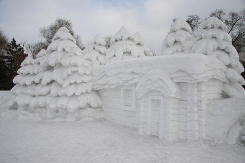 esculturas neve lindas gelo inverno arte (57)