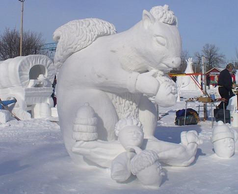 esculturas neve lindas gelo inverno arte (12)