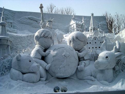esculturas neve lindas gelo inverno arte (26)