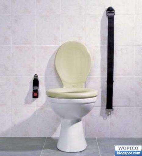 Seat Belt Toilet