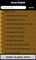 Screenshot of Quran - English Translation
