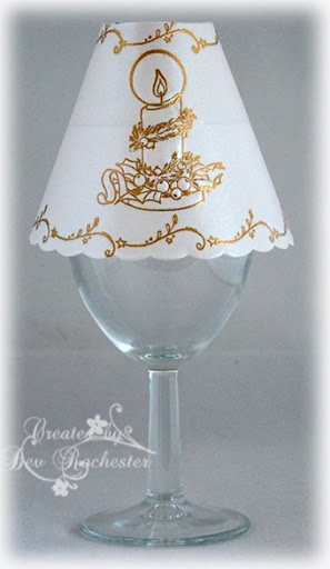 ... Wine Glass Lamp Shade To Show You. 7
