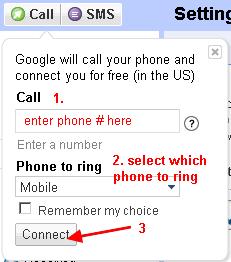 gvoice call