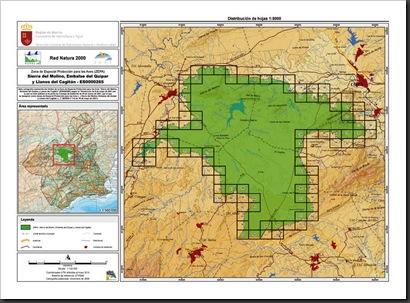 ZEPA Sierra del Molino Embalse del Quipar y Llanos del Cagitan