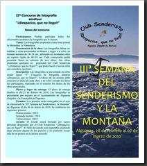 Triptico Tercera Semana del Senderismo y la Montaña f-1