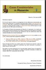 Carta Día del Museo 2009 gnral