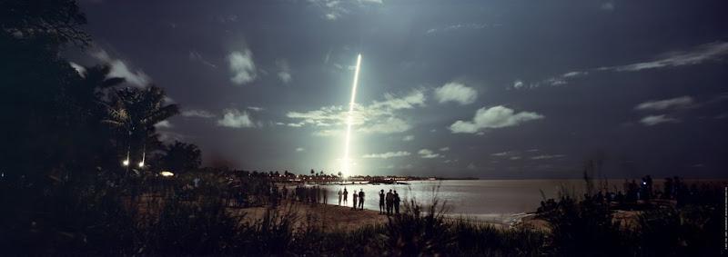 départ fusée ariane