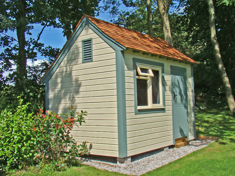 New England Style Saltbox Roof Shed Lots Of Piccies
