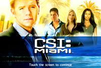CSI Miami iPhone iPod Adventure Game