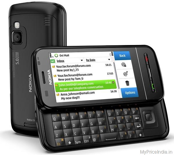 Nokia C6 Price in India