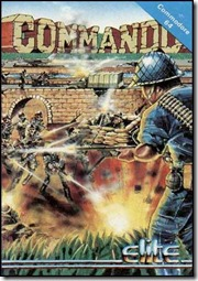 Commando c64 original cover