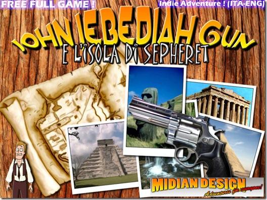 John Jebediah Gun e l'Isola di Sepheret (freeware)