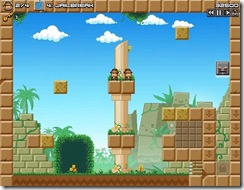 Guardian Rock indie flash game_