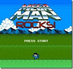 Mega Man Rocks! title