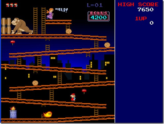 Super Donkey Kong Freeware remake 01