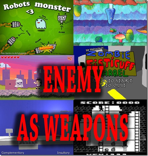 Ludum Dare 18 Enemy As Weapons 213 freeware games - Idealsoftblog