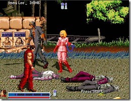 Double Dragon SNK freeware game (4)