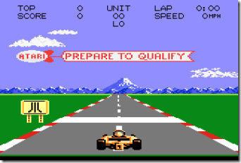 Pole Position II (1987) (Atari)