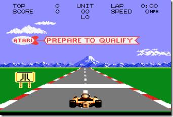 Pole Position II (1987) (Atari)