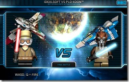 Lego Star Wars ACE ASSAULT free web game screen (3)