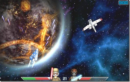 Lego Star Wars ACE ASSAULT free web game screen (4)