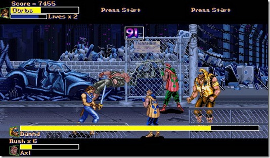 Final Fight Gold 2011 free fan game (2)