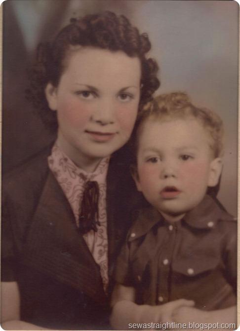 Grandma Helen Jewett and Dean apx 1936-7